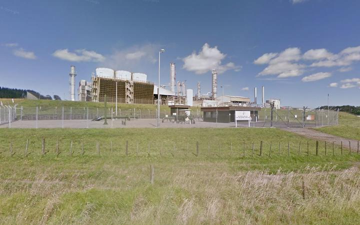 The Methanex plant in Waitara Valley