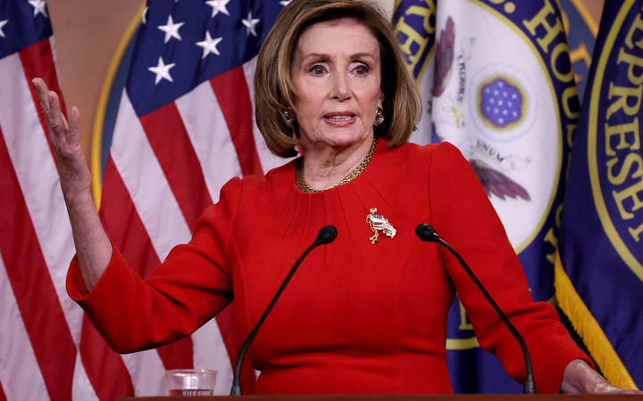 Speaker of the House Nancy Pelosi (D-CA) answers questions during her weekly press conference on May 13, 2021 in Washington, DC.