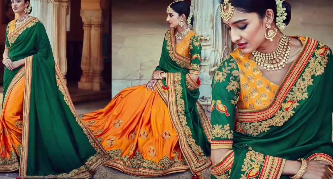 top 5 party wear sarees