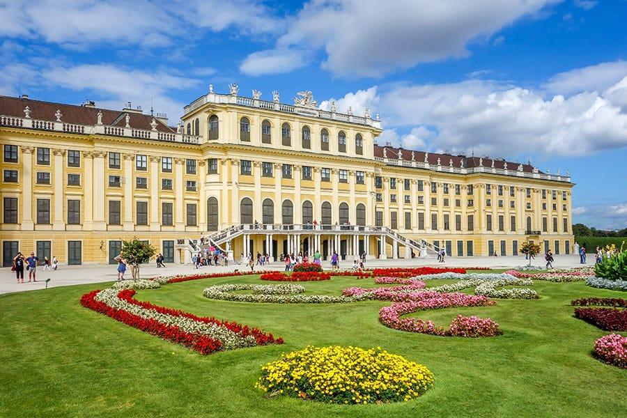 Schönbrunn Palace in Vienna