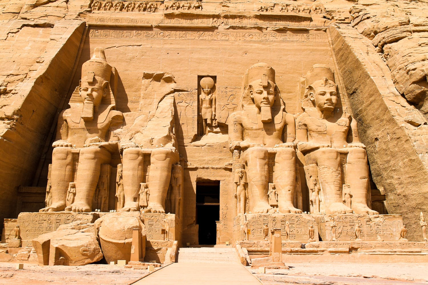 Abu Simbel in Egypt