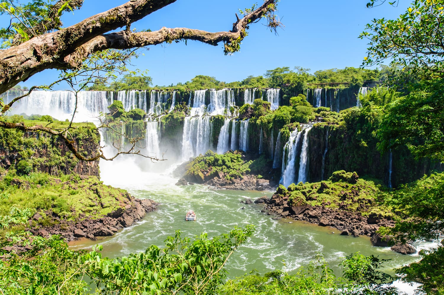 Iguazu National Park in Argentina