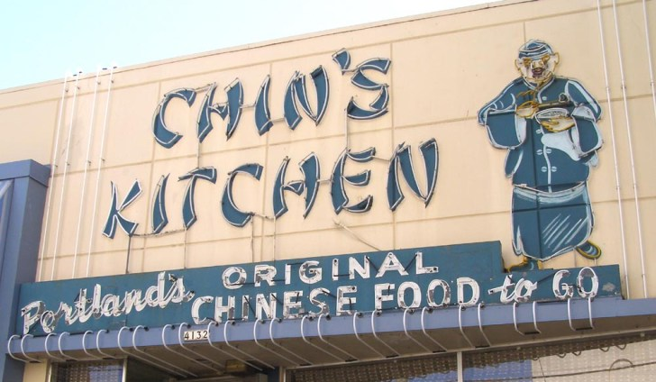 Chin Kitchen Opened 1949 Their Sign Still Lit Night