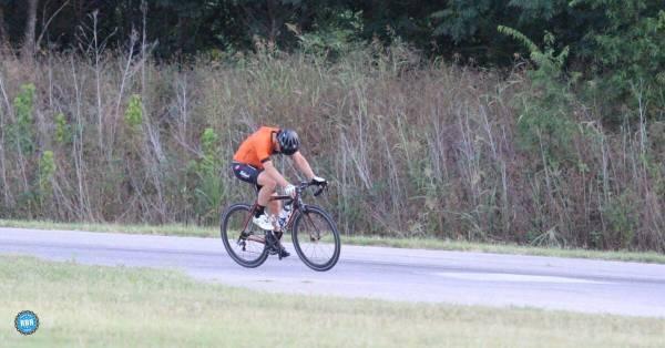 solo cyclist