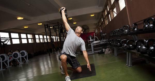 upper body workout kettlebell