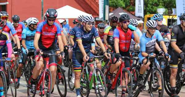 bicycle start line