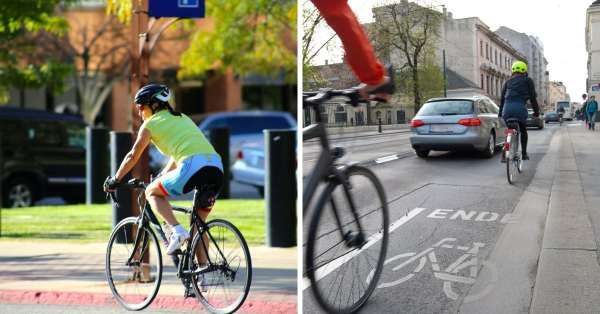 ride a bicycle safely in traffic guide