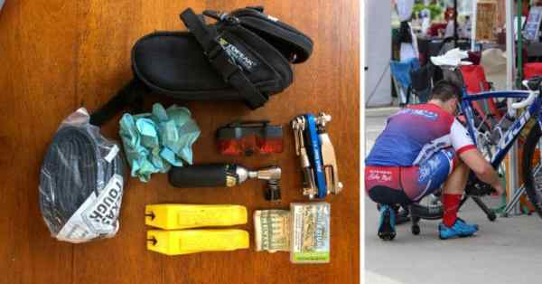 tools to carry in bicycle seat bag