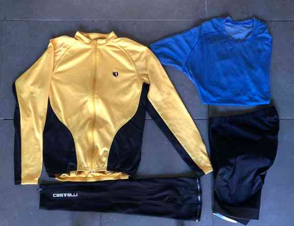 cycling clothes for 50 degrees