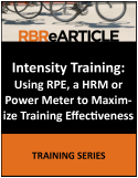 Intensity Training 2016