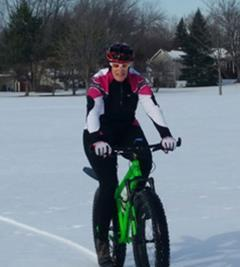 Sheri Rosenbaum on Fat Bike.WEB