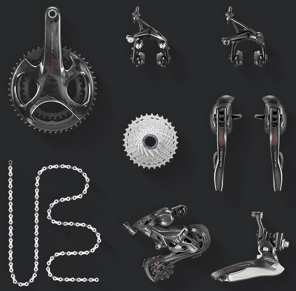 components for 12 speed