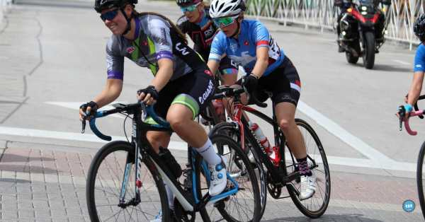 Stay Upright on a Bicycle When Your Wheels Touch Another Rider's