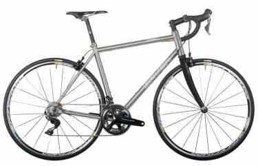 seven titanium bike