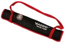Waxed-canvas tool bag supplied standard with Viaggio pump