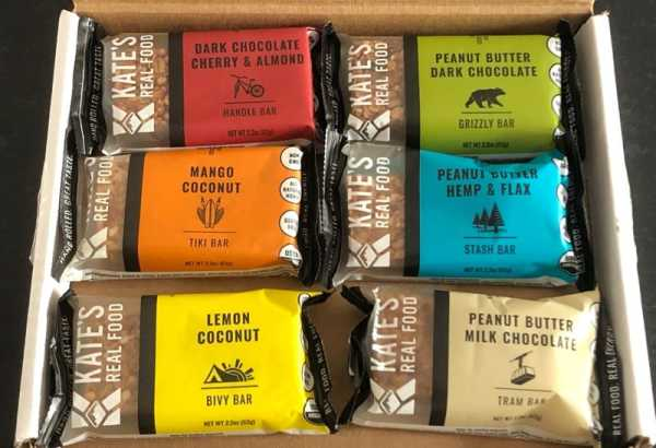 Kate's Real Food Energy Bar Review