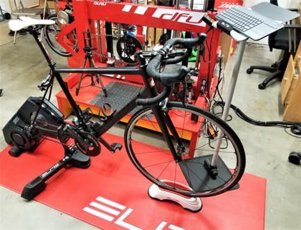 Elite Training Mat and Front Wheel Block