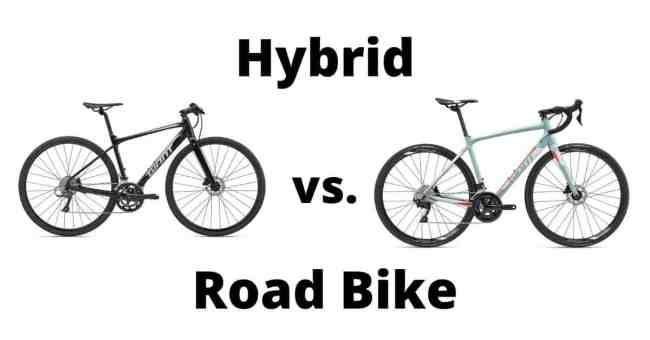 Hybrid bike vs. Road Bike: How much faster is a road bike?
