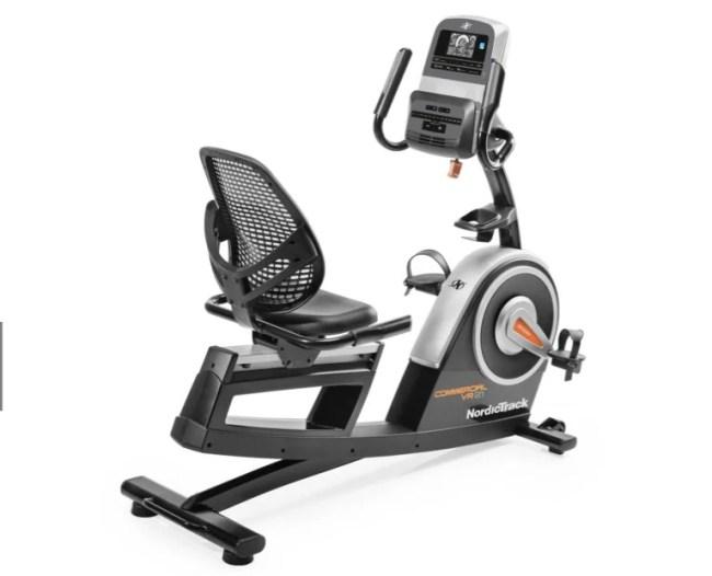 NordicTrack Recumbent Commercial VR21 Indoor Cycling Bike