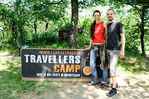 Arrivi al Travellers Camp 2017