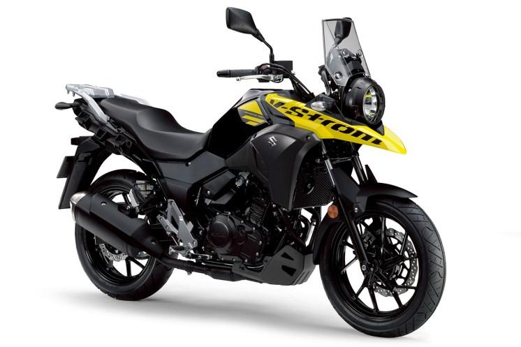 moto per donne Suzuki V-Strom 250