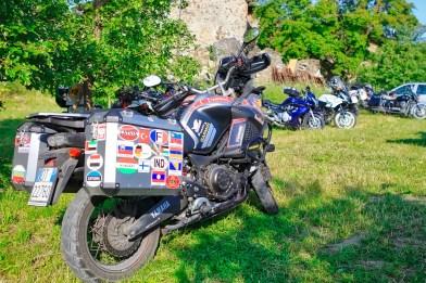 Travellers Camp 2016, le moto dei partecipanti