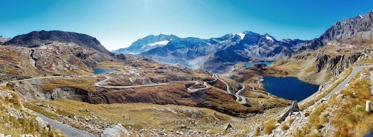 Colle del Nivolet, panoramica