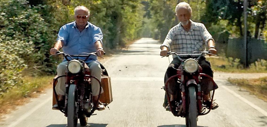 """Monetti e Tartarini oggi, dal documentario """"1 Mappa per 2"""""""