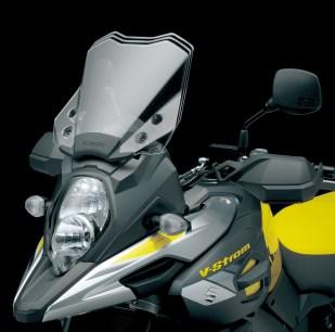 Suzuki V-Strom 1000 2017, il parabrezza regolabile