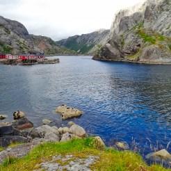 Norvegia in moto, il villaggio Nusfjord nelle isole Lofoten