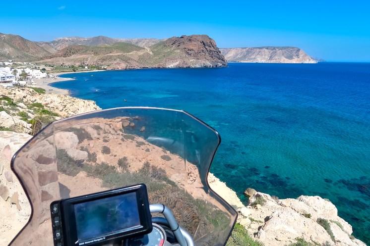 Spagna in moto, Playa Negra nella Murcia