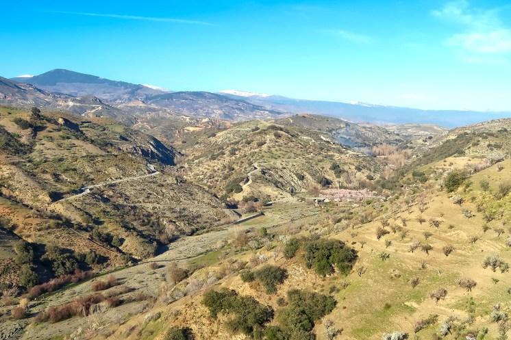Spagna in moto, parco nazionale della Sierra Nevada