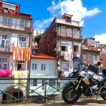 BMW R1200 GS a Porto
