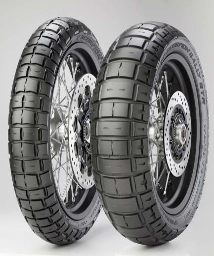 Pirelli Scorpion Rally STR, anteriore e posteriore