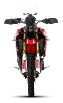 Honda CRF1000L Africa Twin Rally, vista frontale