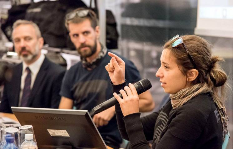 Around Gaia, Ivana alla conferenza GIVI