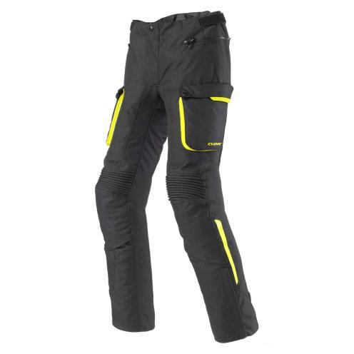 Pantaloni Clover Scout 2 da uomo neri e gialli