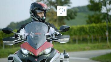 Scudo digitale Bosch, l'avvertimento sonoro al motociclista
