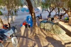 Sudafrica e Namibia in moto, il campeggio Hobas