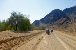 Sudafrica e Namibia in moto, nel Fish River Canyon