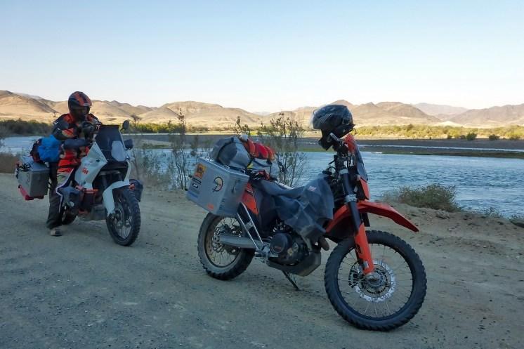 Sudafrica e Namibia in moto, con KTM 690 Adventure e KTM 990 Adventure