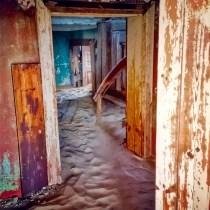 Sudafrica e Namibia in moto, la vecchia città mineraria abbandonata di Kolmanskop