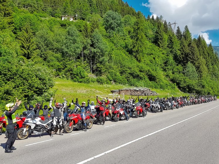 Multi Meeting Nazionale Multistrada 1200, pronti alla partenza