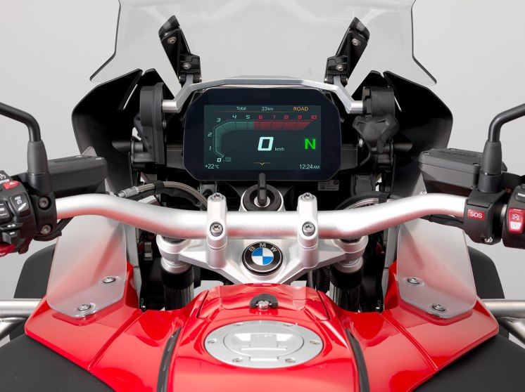BMW R 1200 GS MY 2018, pacchetto opzionale Connectivity
