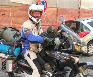 Giulio Romito Mongol Rally 2017 per beneficienza