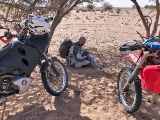 Alba sulla pista per Aousserd Parigi Dakar