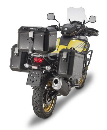 GIVI per maxienduro Trekker Dolomiti set completo Suzuki V-Strom