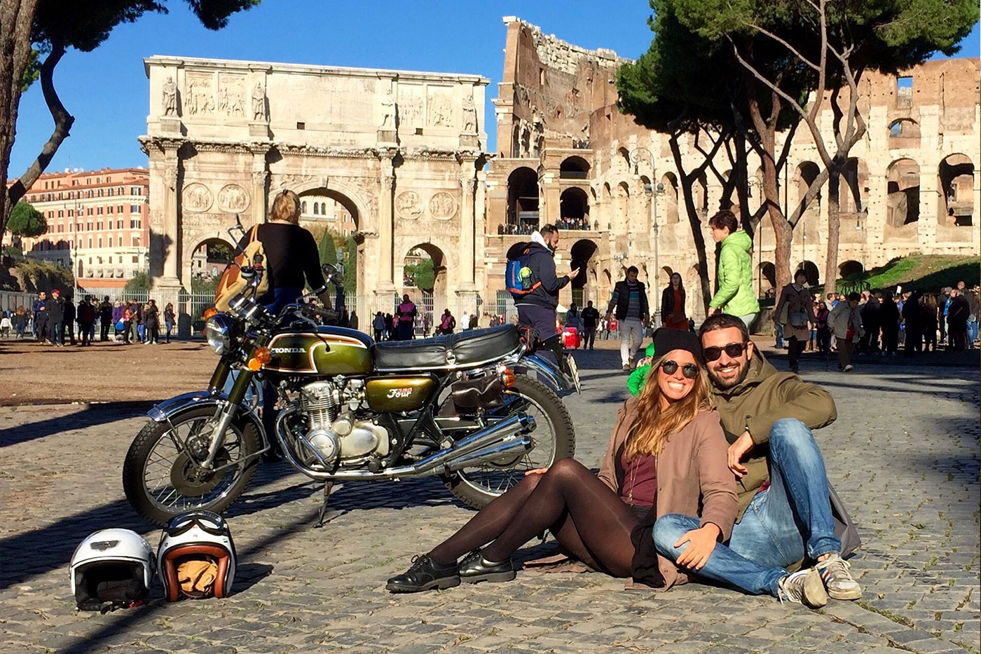 Roberto Agostini The Bikerchefproject viaggiare e cucinare