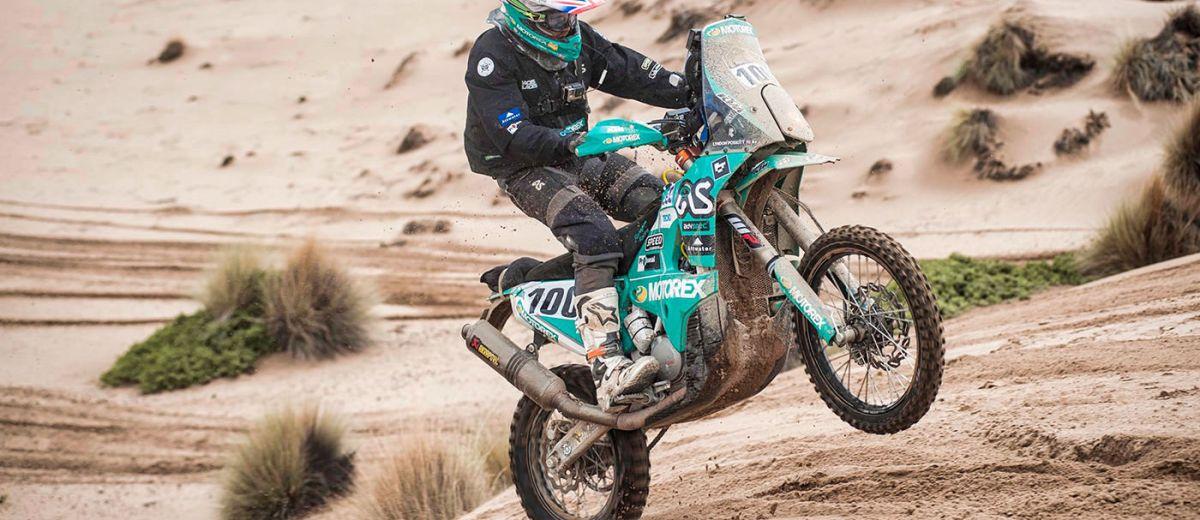 Lyndon Poskitt Dakar 2017