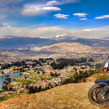 Giro del mondo in KTM La Paz
